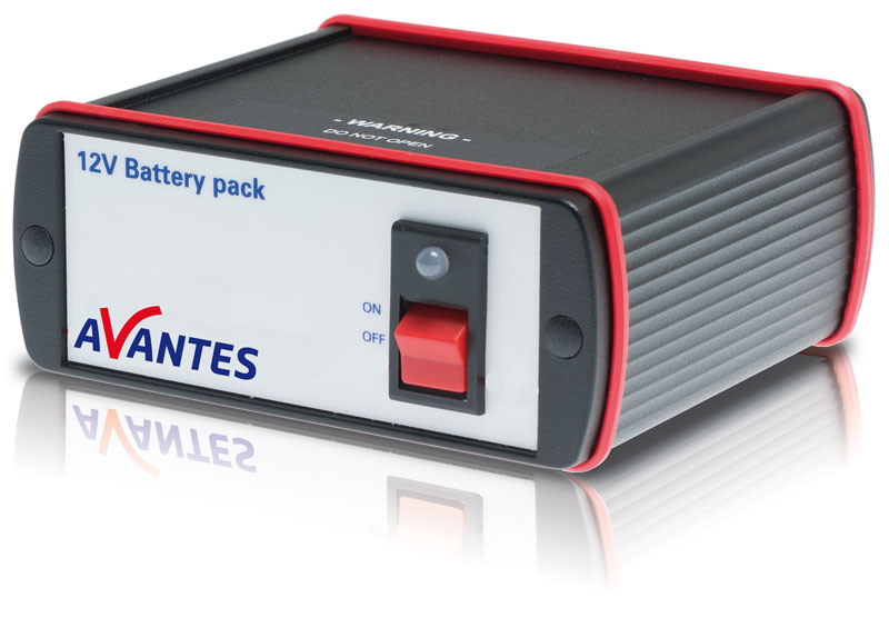 5V/12V/24V Battery packs for Spectrometers and Light Sources