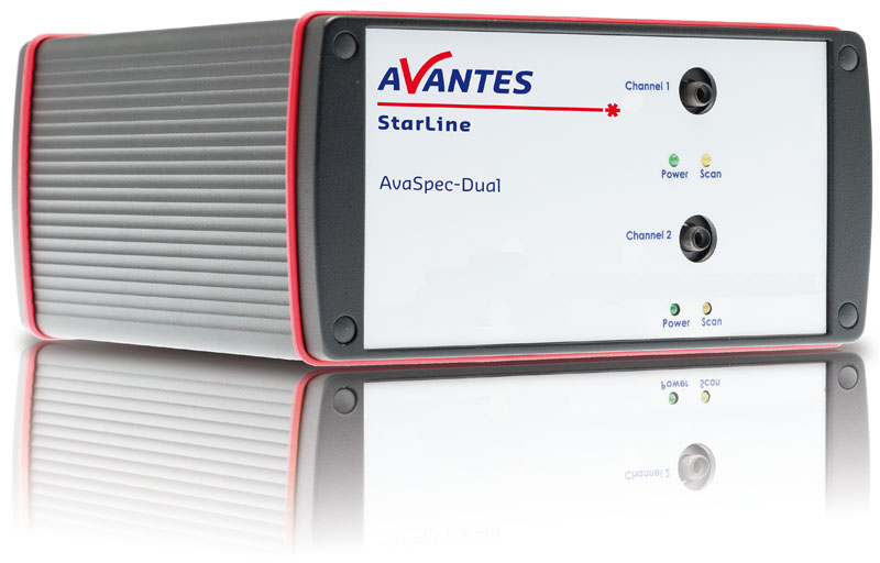 AvaSpec Dual-channel Fiber Optic Spectrometers